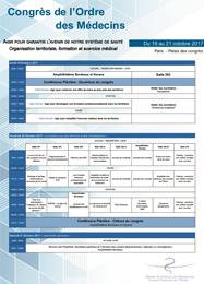 Programme synoptique 2017 CNOM